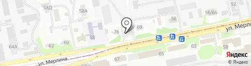 АвтоюрисТ на карте Бийска