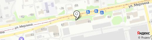 АлтайСтройДом на карте Бийска