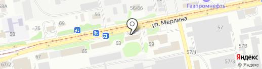 Заринская Сетевая Компания на карте Бийска