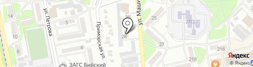 Центр недвижимости на карте Бийска