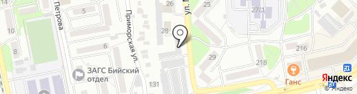 Автомастерская на карте Бийска