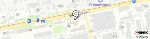 X-club на карте Бийска