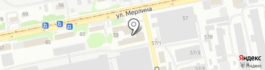 Энерготэк на карте Бийска