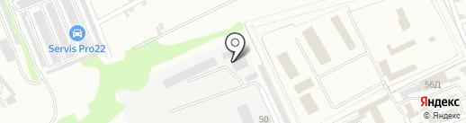 Мясная тележка на карте Бийска