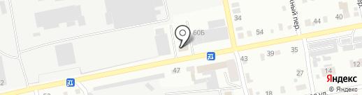 ПЭК на карте Бийска