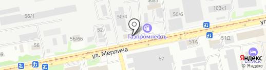 АстрейЛ на карте Бийска