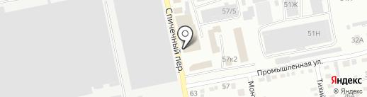 Автогарант на карте Бийска