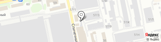 Ростехнадзор на карте Бийска