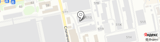 Мебельная компания на карте Бийска