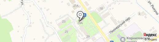 Корниловская общеврачебная практика на карте Корнилово