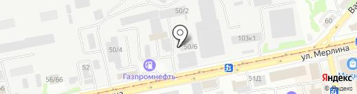 Globus на карте Бийска