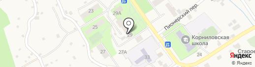 Мария-Ра на карте Корнилово