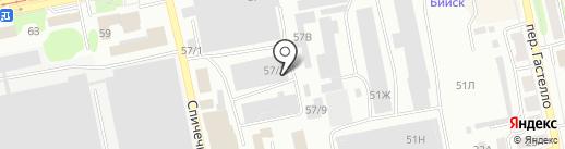 Проф Быт Строй на карте Бийска