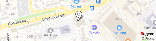 Апельсин Green на карте Бийска