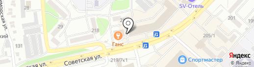 Почтовой отделение №388 на карте Бийска