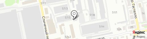 Хладолюкс на карте Бийска