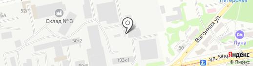 Дизайн-Проект на карте Бийска