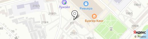 Пифагорка на карте Бийска