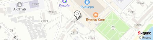 Мельница на карте Бийска