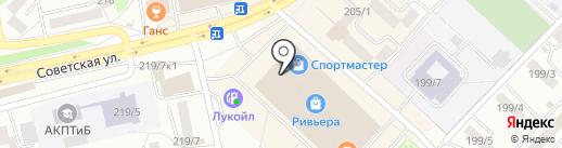 Yota на карте Бийска
