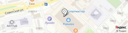 NYX на карте Бийска