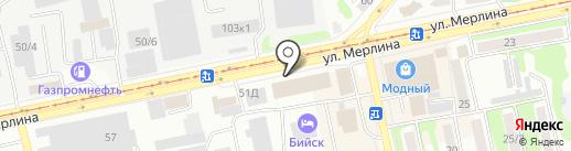 ENET на карте Бийска