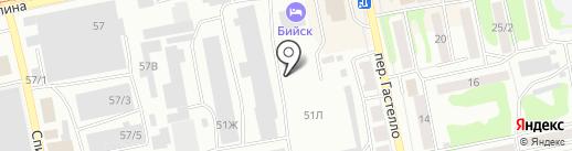 АвтоМАХ на карте Бийска