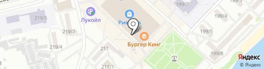 Торгово-сервисный центр на карте Бийска
