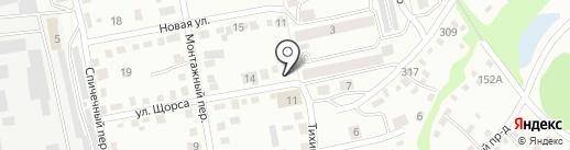 Victoria на карте Бийска