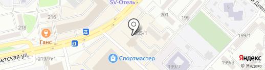 Шпачек на карте Бийска