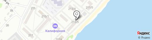 Пирекс на карте Бийска