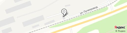 Угольсервис на карте Богашёво