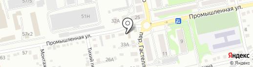 Иномаркет на карте Бийска