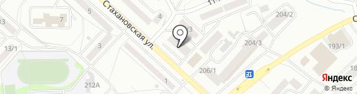 Домострой на карте Бийска