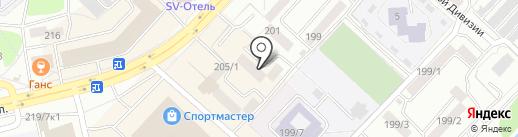 aSova на карте Бийска