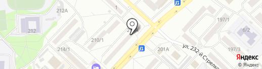 Магазин деликатесов на карте Бийска