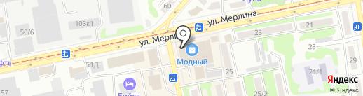 Академия парикмахерского искусства и управления на карте Бийска