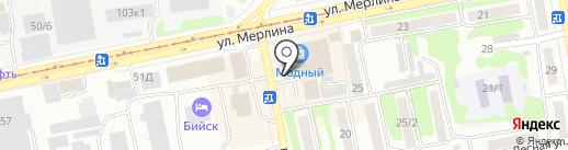 Алтай Лидер на карте Бийска