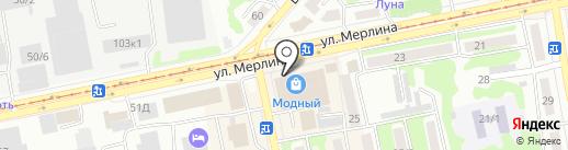 FirSt на карте Бийска