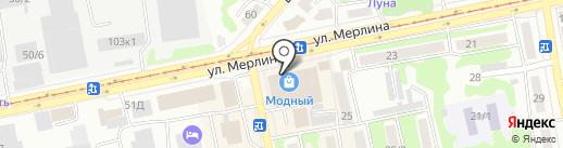 Меломан на карте Бийска