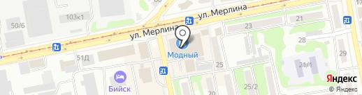 Vape Market на карте Бийска
