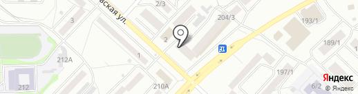 Дисконт-центр дверей на карте Бийска