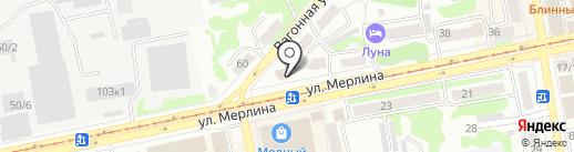 Медицинский центр на карте Бийска