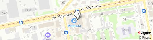 Профит на карте Бийска