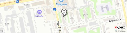 РЭП №8 на карте Бийска