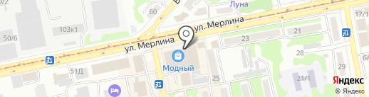 Кико на карте Бийска