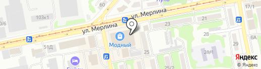 Позитив на карте Бийска