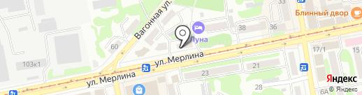 Дианэт на карте Бийска