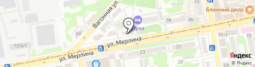 Нотариус Иванов А.Ю. на карте Бийска