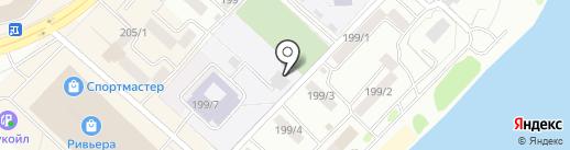 Детская музыкальная школа №2 на карте Бийска